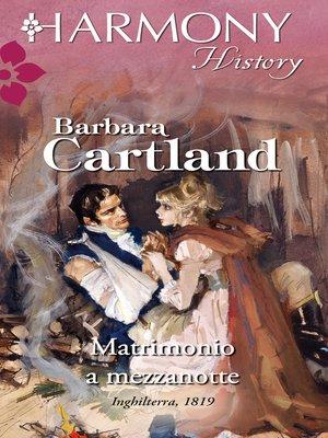 cover image of Matrimonio a mezzanotte