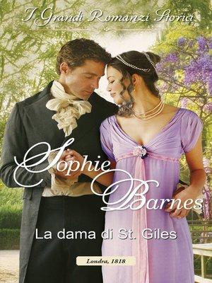 cover image of La dama di St. Giles