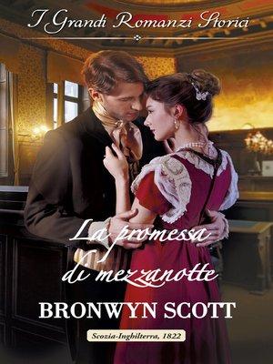 cover image of La promessa di mezzanotte