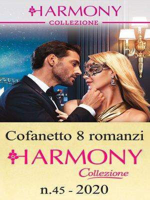 cover image of Cofanetto 8 Harmony Collezione n.45/2020