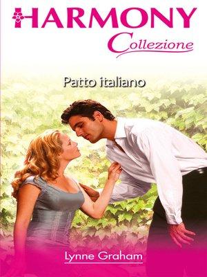 cover image of Patto italiano