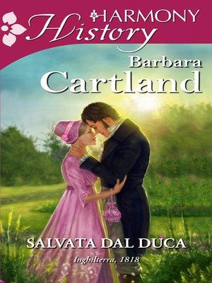 cover image of Salvata dal duca