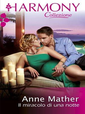 cover image of Il miracolo di una notte