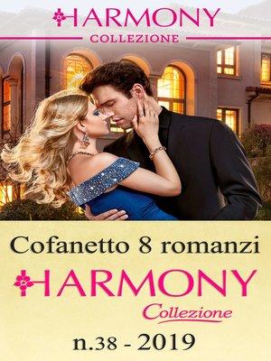 cover image of Cofanetto 8 Harmony Collezione n.38/2019