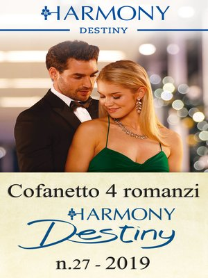 cover image of Cofanetto 4 Harmony Destiny n.27/2019