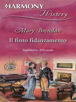 cover image of Il finto fidanzamento