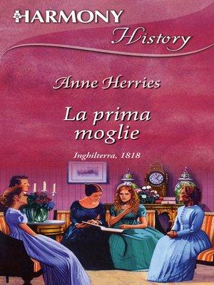 cover image of La prima moglie
