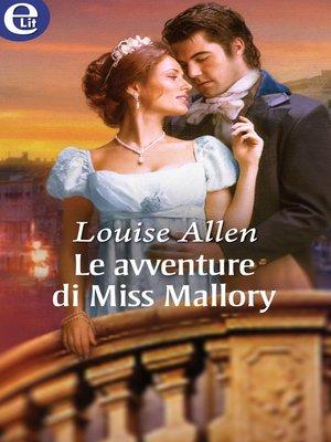 cover image of Le avventure di Miss Mallory