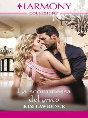cover image of La scommessa del greco