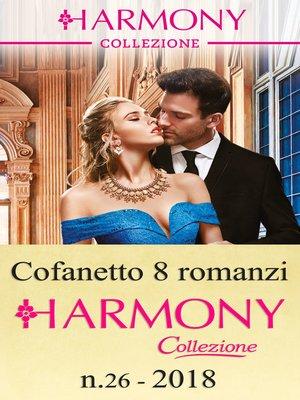 cover image of Cofanetto 8 Harmony Collezione n.26/2018