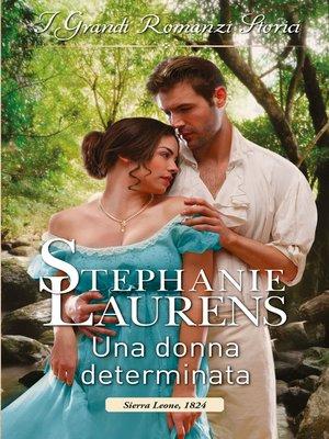 cover image of Una donna determinata