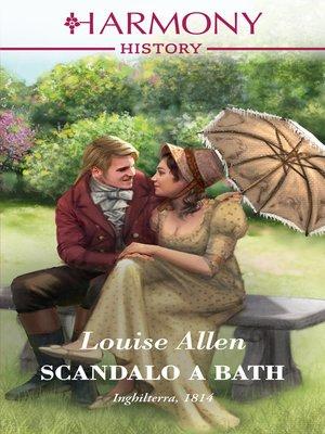 cover image of Scandalo a Bath