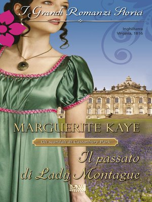 cover image of Il passato di Lady Montague