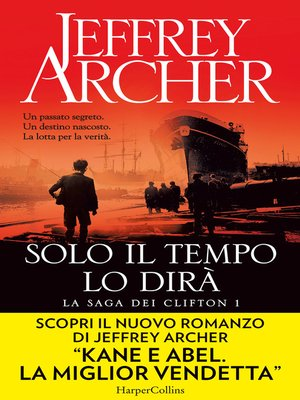 cover image of Solo il tempo lo dirà