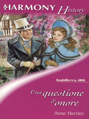 cover image of Una questione d'onore