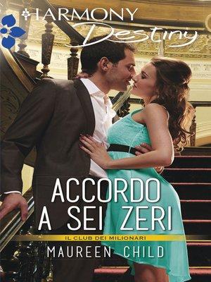 cover image of Accordo a sei zeri