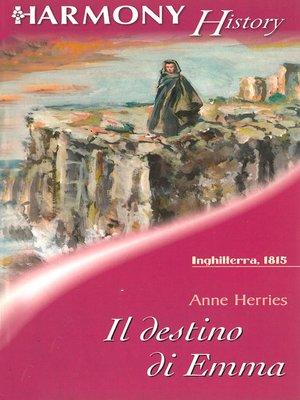 cover image of Il destino di Emma