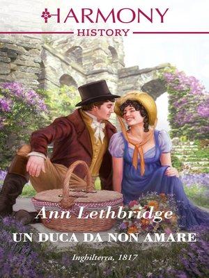 cover image of Un duca da non amare