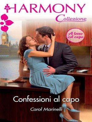 cover image of Confessioni al capo