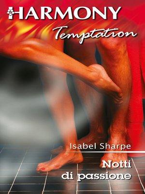 cover image of Notti di passione
