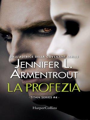 cover image of La profezia
