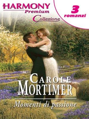 cover image of Momenti di passione