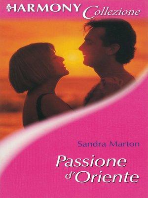 cover image of Passione d'Oriente
