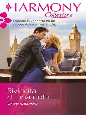 cover image of Rivincita di una notte