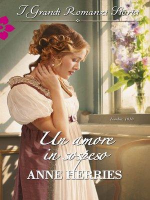 cover image of Un amore in sospeso