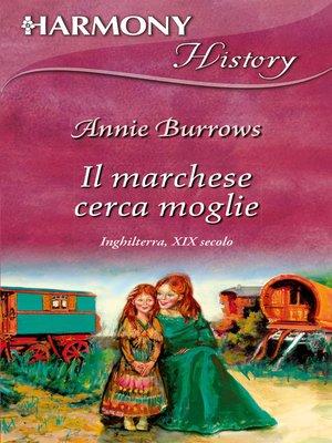 cover image of Il marchese cerca moglie