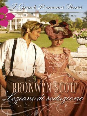 cover image of Lezioni di seduzione