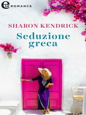 cover image of Seduzione greca