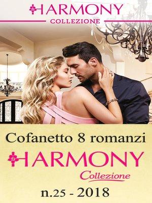 cover image of Cofanetto 8 Harmony Collezione n.25/2018