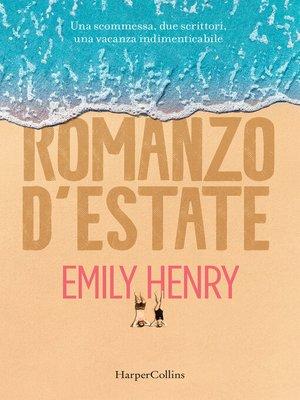 cover image of Romanzo d'estate