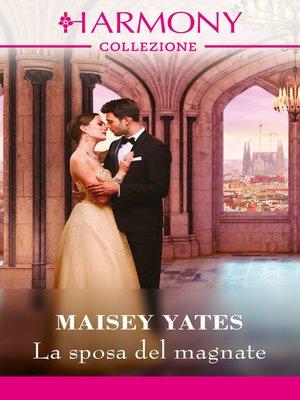 cover image of La sposa del magnate