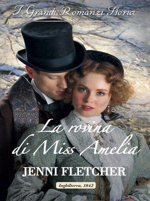 cover image of La rovina di Miss Amelia
