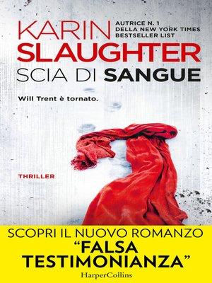 cover image of Scia di sangue