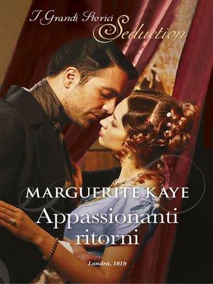 cover image of Appassionanti ritorni