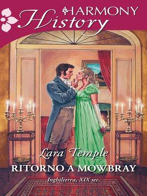 cover image of Ritorno a Mowbray