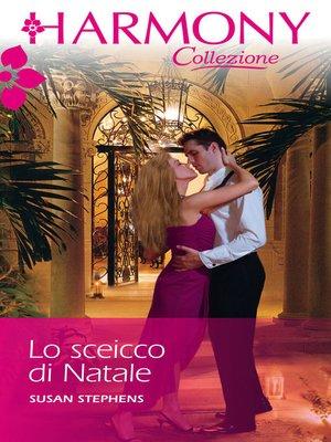 cover image of Lo sceicco di natale