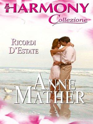 cover image of Ricordi d'estate