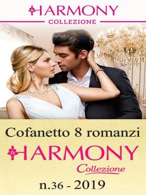 cover image of Cofanetto 8 Harmony Collezione n. 36/2019