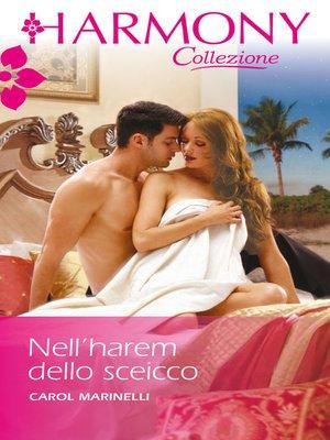 cover image of Nell'harem dello sceicco