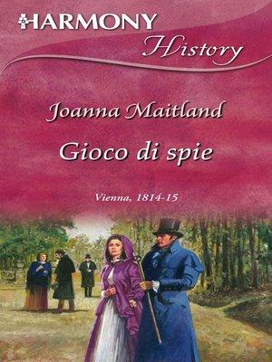 cover image of Gioco di spie