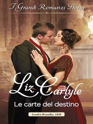 cover image of Le carte del destino