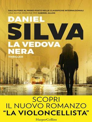 cover image of La vedova nera