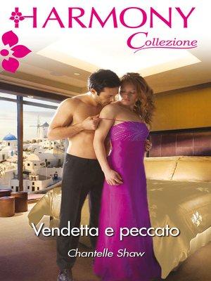 cover image of Vendetta e peccato