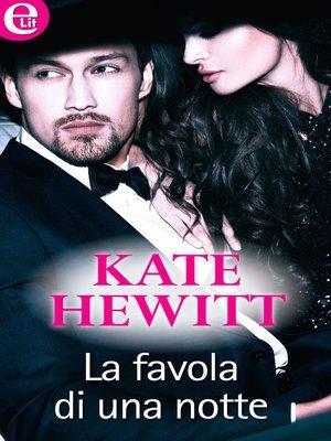 cover image of La favola di una notte