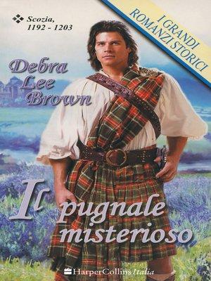 cover image of Il pugnale misterioso