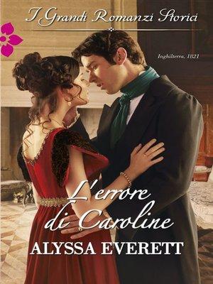 cover image of L'errore di Caroline
